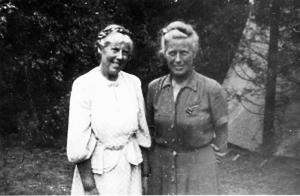 Muriel and Doris Lester