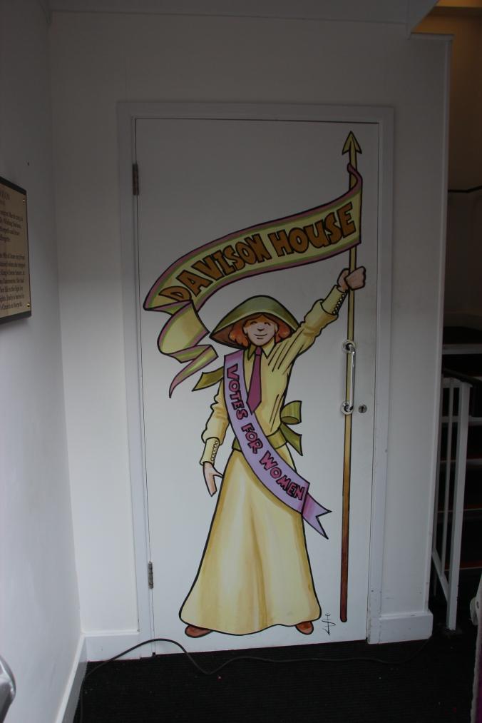 The artwork in Davison House, by  Jan Szymczuk.