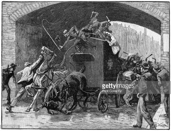 Manchester prison van breakout 1867