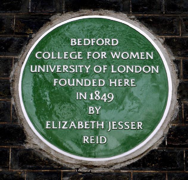 Bedford foundation plaqur