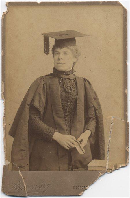 Graduation Photo of Marian Sherrett