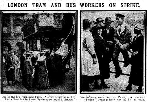 1918 Female strikers