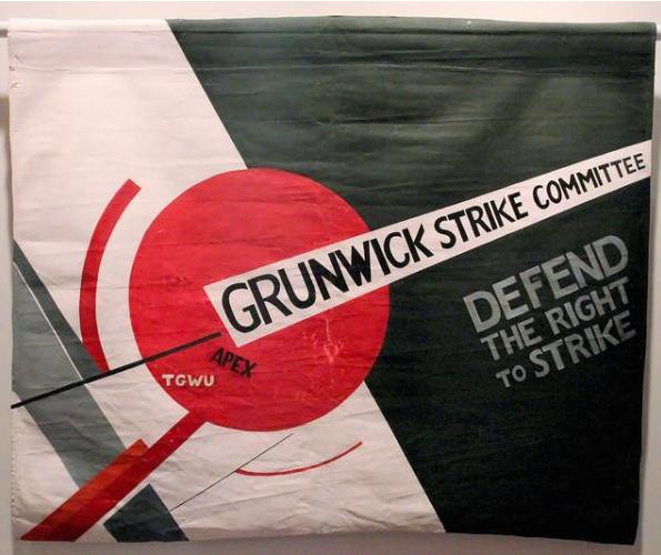 Grunwick Strike banner.PNG