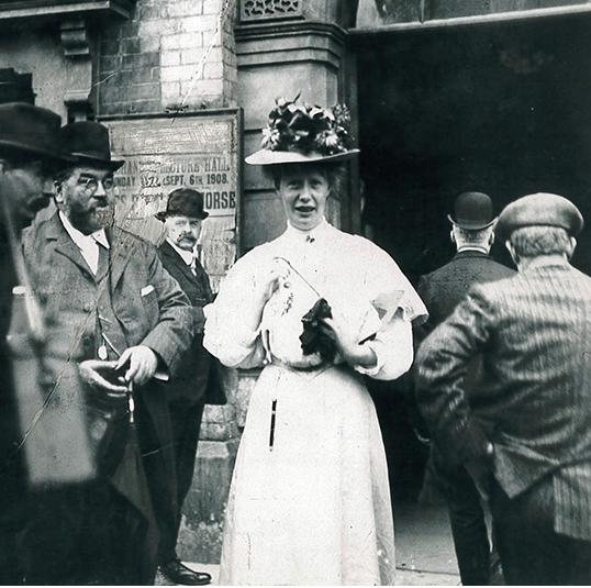 Mary Macarthur TUC 1908