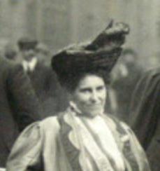 Rosa May Billinghurst Close up