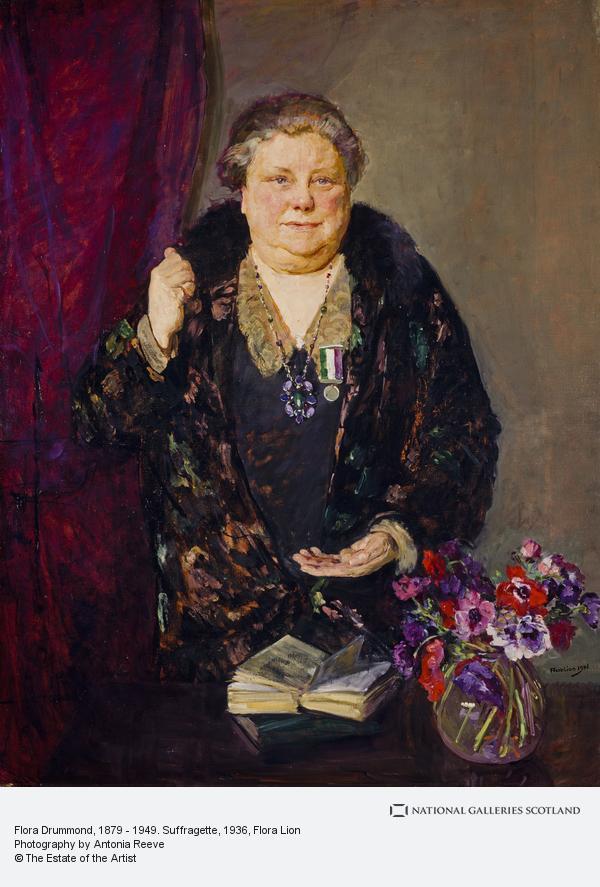 Flora Drummond older