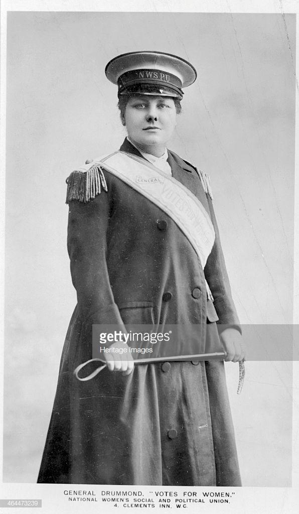 'General' Flora Drummond, 1907.