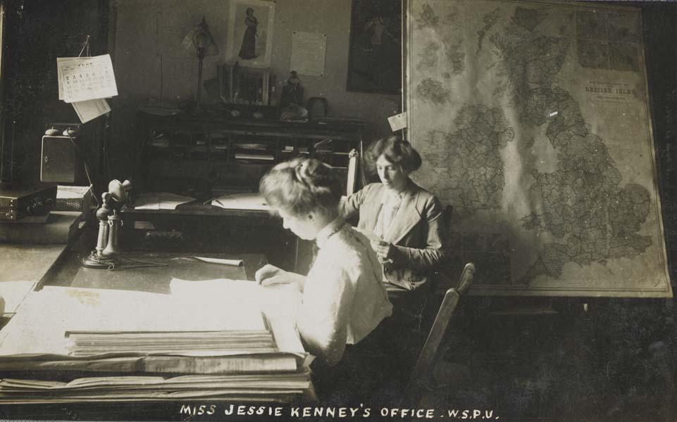 Jessie Kenney's office