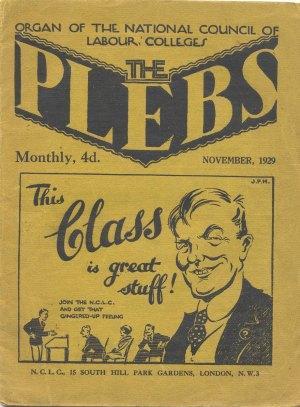 Plebs-League 1929