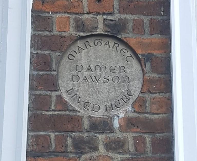 Margaret Dawson Plaque