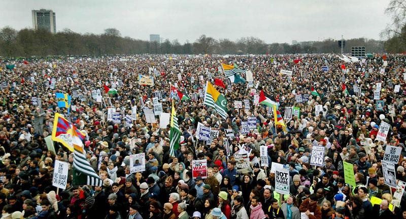 Anti Iraq War Demo Hyde Park