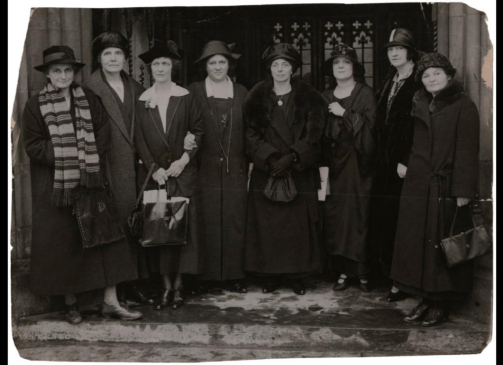 1924 Women MPs
